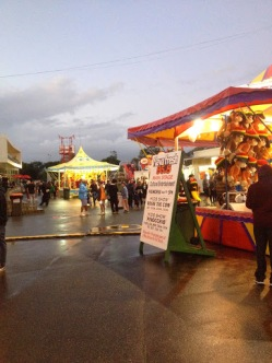 Evening at the Royal Easter Show
