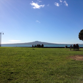 View of Rangitoto Island