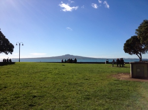 View of Rangitoto Island