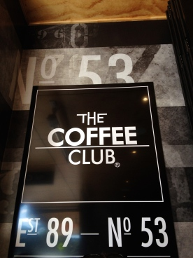 Went to the Coffee Club for lunch