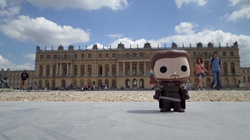 Robb Stark visits Château Versailles
