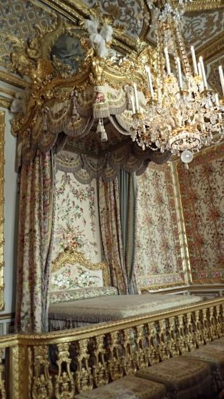The Queen's (aka Marie Antoinette's) bedchambers.