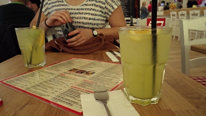 Had a really delicious drink.