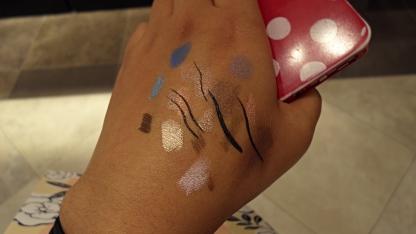 Make up shopping.