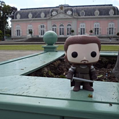 Robb Stark visits Schloss Benrath