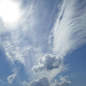 The pretty sky