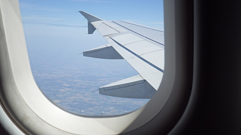 Flying from Dusseldorf to Paris