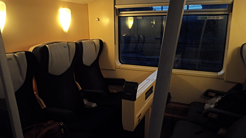 Our first class carriage