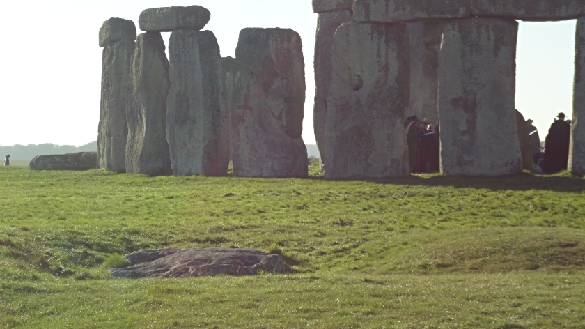 The Sacrificial Stone at Stonehenge