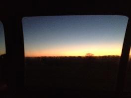 Beaut of a sunset