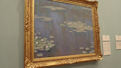"""Waterlilies"" (1905) by Claude Monet"