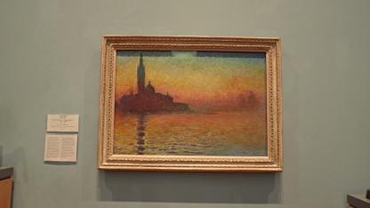 """""""San Giorgio Maggiore by Twilight"""" (1908) by Claude Monet"""