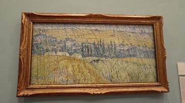 """""""Rain-Auvers"""" (1890) by Vincent van Gogh"""