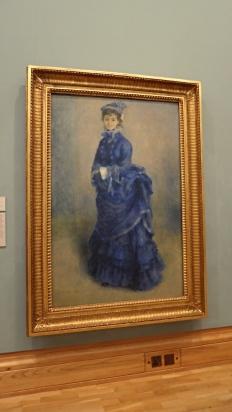 """""""La Parisienne"""" (1874) by Pierre-Auguste Renoir"""