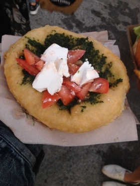 Hungarian fried bread from Silo Markets