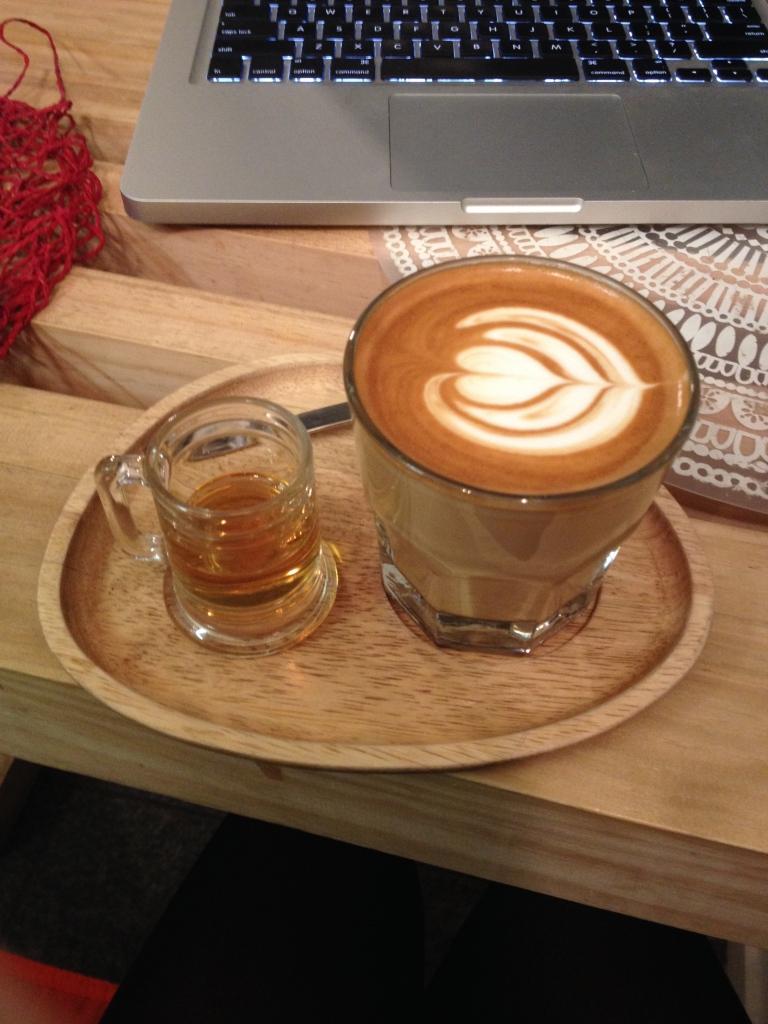 Caramel Latte from The Shelf
