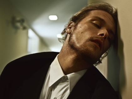 Sam Heughan in Interview Magazine