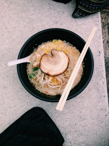 Yummy bowl of Ramen