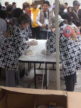 Process of making moochi