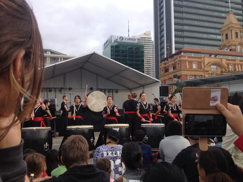 Drummers at Japan Day