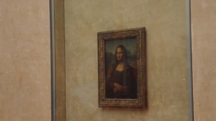 Mona Lisa, check her out!