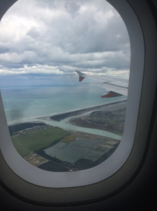 Flying to Christchurch
