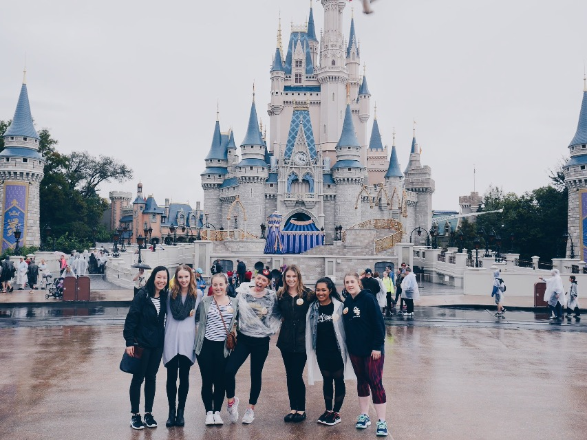 Our first day at Magic Kingdom