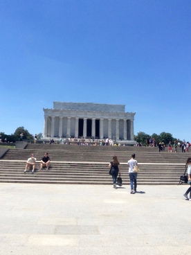 The Lincoln Memorial from afar