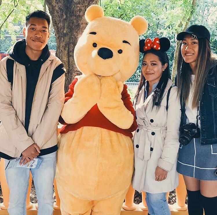 Pooh Disneyland Hong Kong