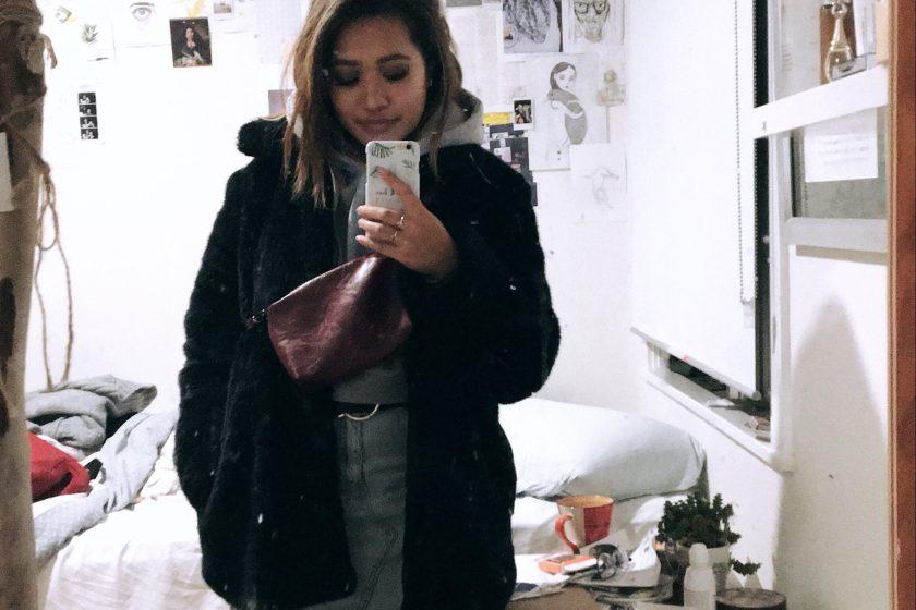 winter fashion faux fur